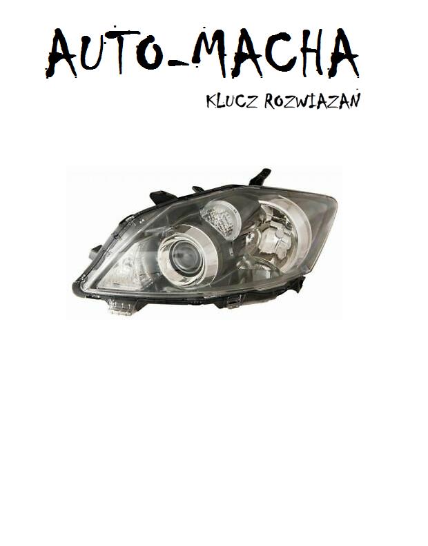 Freemoto - Toyota Auris 10-12 Reflektor Przedni Lampa przednia NOWY