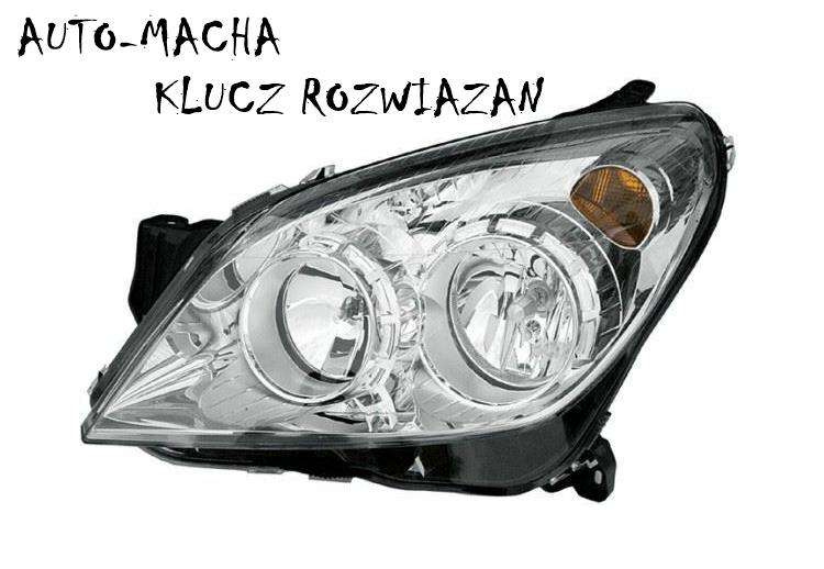 Freemoto - Opel Astra H 03-12 Reflektor Przedni Lampa przednia NOWY