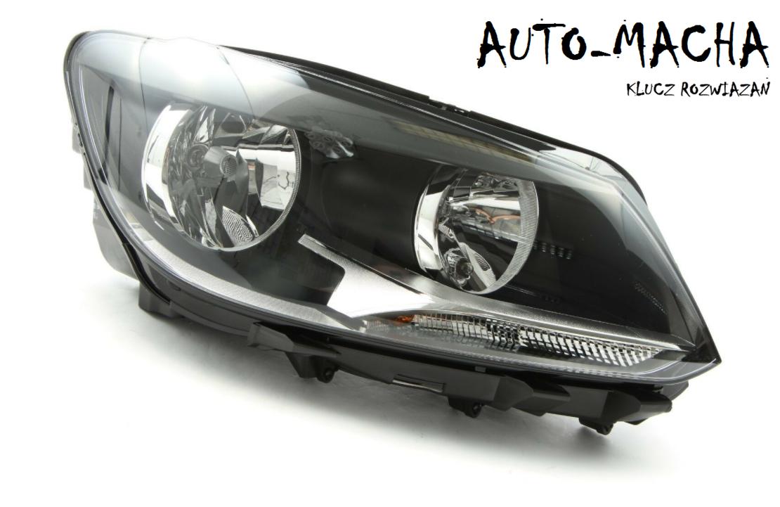 Freemoto - Volkswagen Touran Caddy 10-15 Reflektor Przedni Lampa przednia NOWA