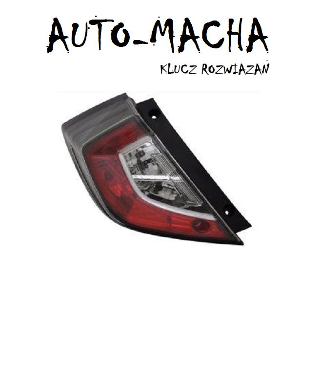 Freemoto - Honda Civic 16- Lampa tylna LED NOWA