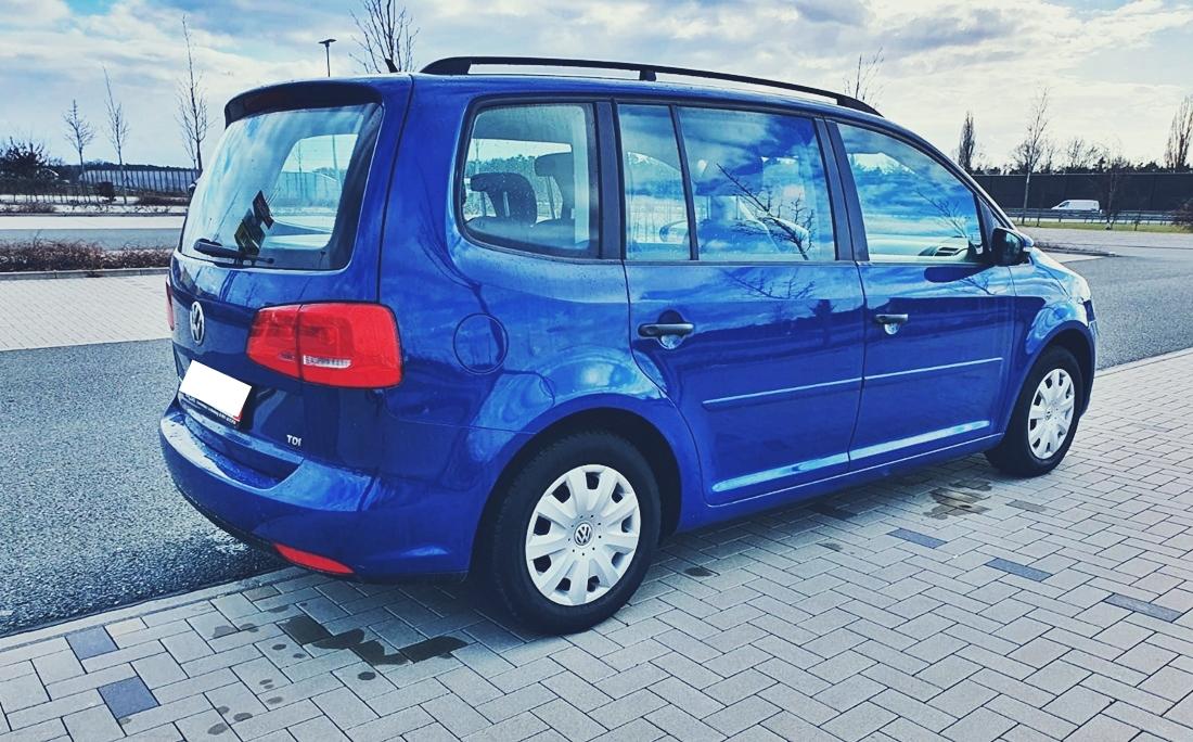 Freemoto - Volkswagen Touran 1.6 TDI 105KM Bezwypadkowy VW z Niemiec, Książka Faktury 2012 OPŁACONY