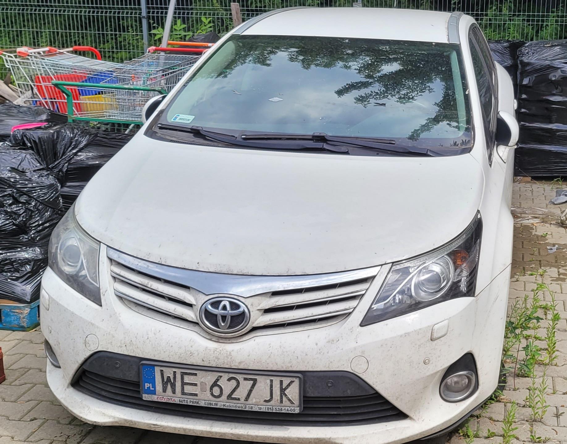 Freemoto - Syndyk sprzeda samochód osobowy Toyota Avensis Wagon 2.0