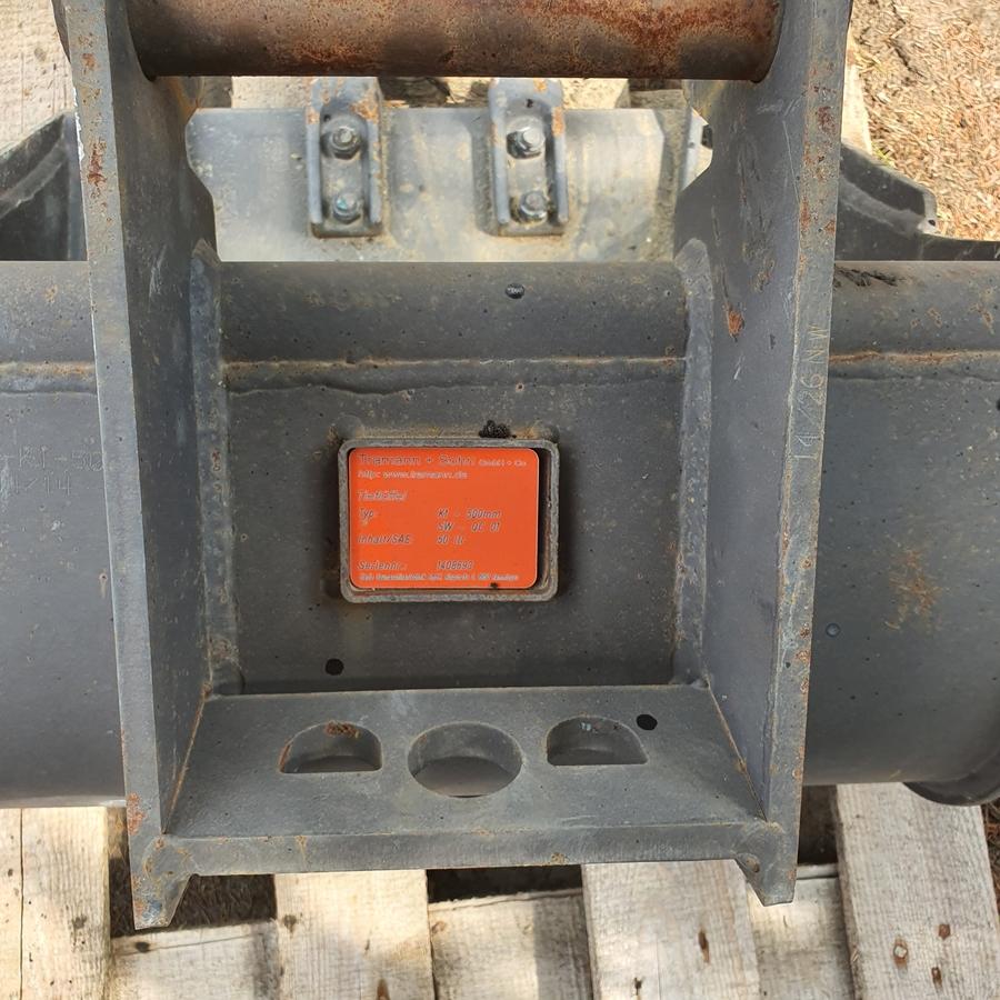 Freemoto - Łyżka do minikoparki 50 litrów