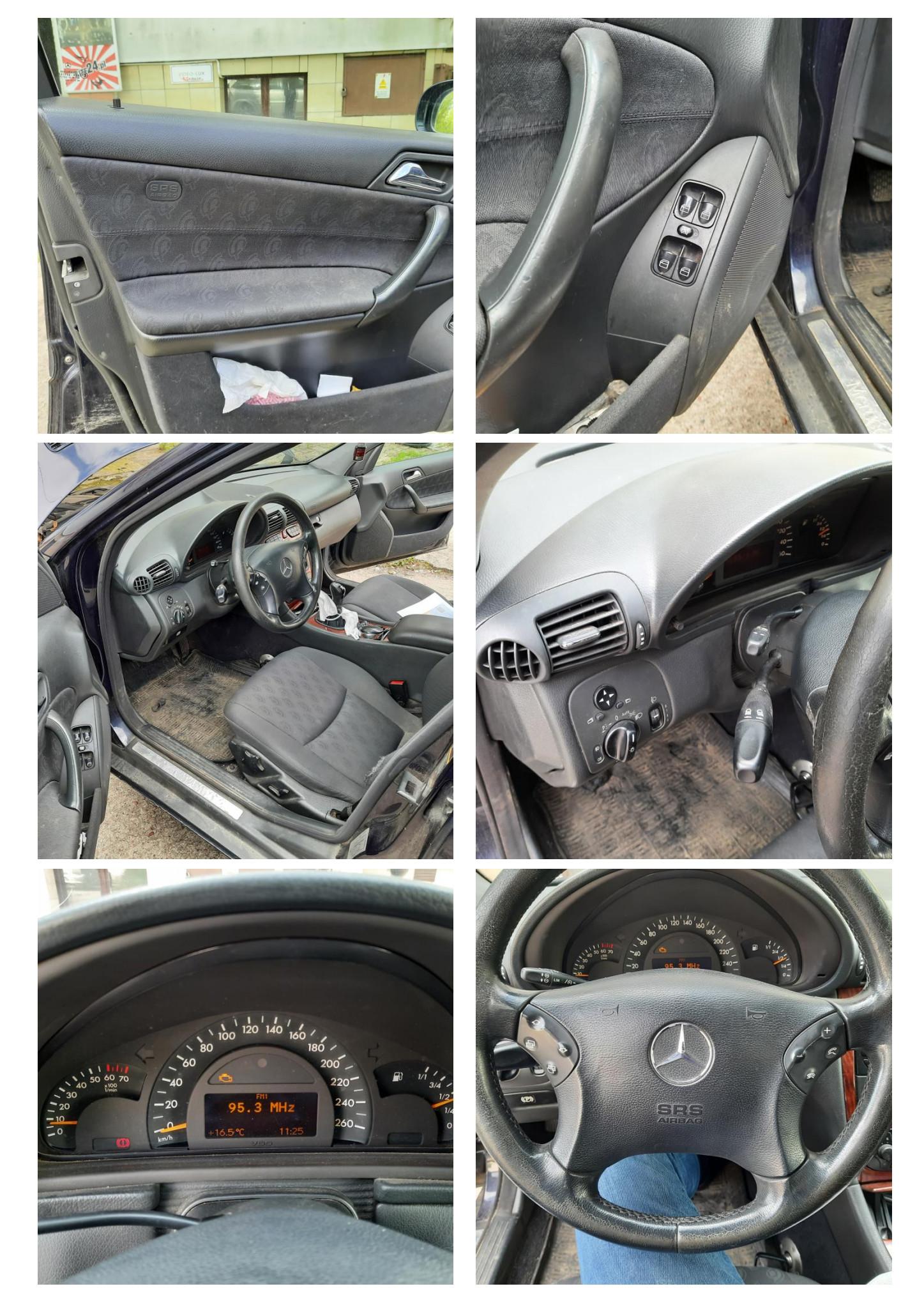 Freemoto - Syndyk sprzeda Mercedes Benz C 180 Kompressor